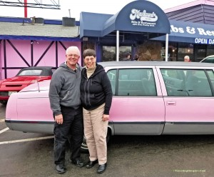 The Pink Limo from Marlowes